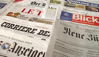 Schweizer Zeitungen